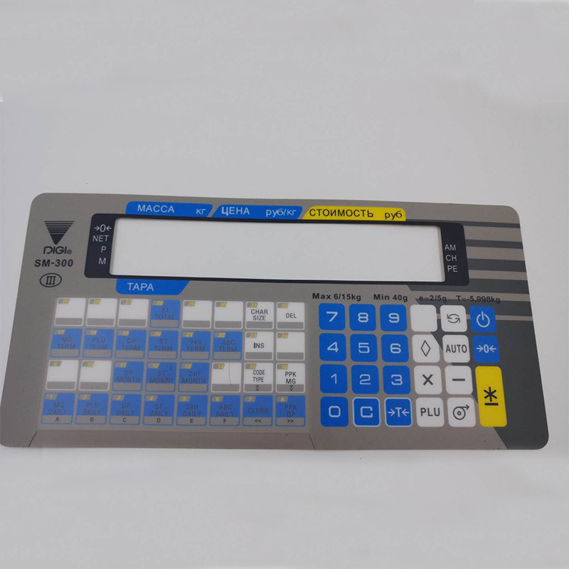 NEW STYLE original and new english version electronic scale digi sm-300 keyboard film sm300 keyboard film